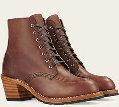 Women's 3406 Clara Amber Leather Boot | Red Wing Heritage