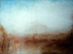 Joseph Mallord William Turner - Landscape (1840-45), via tumblr