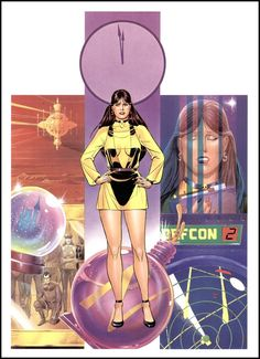 The Watchmen -Silk Spectre by Dave Gibbons