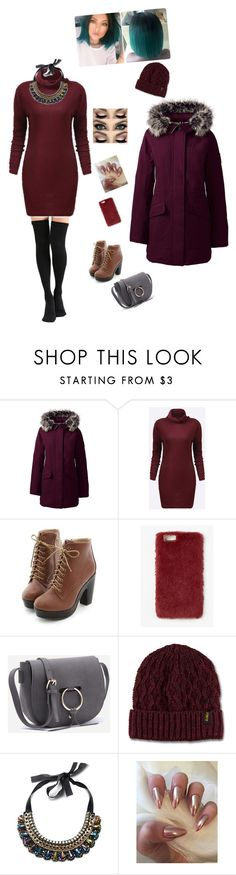 """Untitled #462"" by cool-julija ❤ liked on Polyvore featuring Lands' End, Miss Dora, Missguided and Dr. Martens"