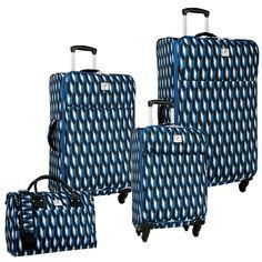 d6ea453b45a3 Diane von Furstenberg Lilah 4 Piece Spinner Luggage Set  DianevonFurstenberg   luggage  luggageset  suitcase  Lilah  DianevonFurstenbergLuggage  DVF   ...