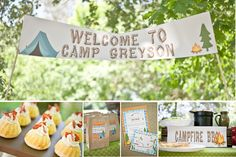 birthday party ideas | ... Birthday Party Ideas, Indoor Camping Theme Party | Best Birthday Party
