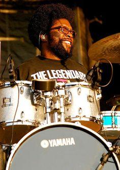 Drummerworld: Ahmir Questlove Thompson