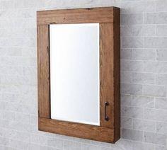 Ideas Bath Room Mirror Contemporary Medicine Cabinets For 2019 Bathroom Mirrors Diy, Ikea Mirror, Wood Mirror, Diy Mirror, Master Bathroom, Mirror Ideas, Lowes Bathroom, White Mirror, Cozy Bathroom