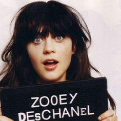Zooey Deschanel.
