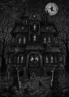 On Halloween night...