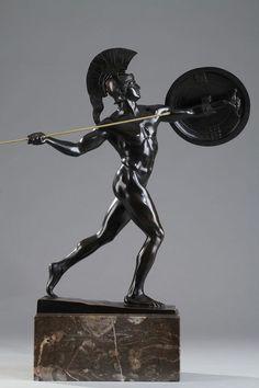 Roman Sculpture, Art Sculpture, Bronze Sculpture, Ancient Greek Sculpture, Ancient Art, Sculpture Romaine, Statues, Masculine Art, Greek Pantheon