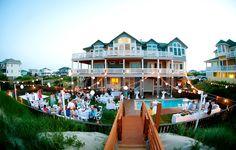 Outer Banks Real Wedding by GingerSnaps Photography at Absolute Elegance by Carolina Designs Realty #destinationwedding #beachwedding #samesexwedding