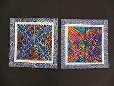 5th Grade Prints by Paintbrush Rocket, via Flickr