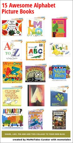 15 Awesome Alphabet Picture Books