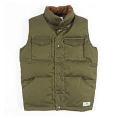 // Puff Daddy Down Vest Army