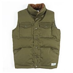 // Puff Daddy Down Vest Army