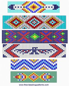 free beading patterns | free-beading-pattern-barrette-6-simple-barrettes