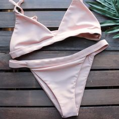 the blush minimalist bikini - shophearts - 1