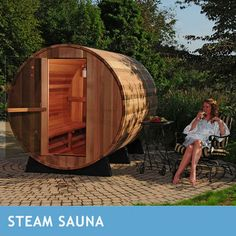 Almost Heaven Saunas Princeton 6-person Outdoor Steam Sauna