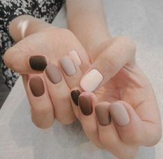 Nageldesign essie Neutrals Nail Polish Kohls Where Is That Hair Way Hair And Nails, My Nails, Salon Nails, How To Do Nails, Neutral Nail Polish, Brown Nail Polish, Nagellack Design, Uñas Fashion, Fashion Trends