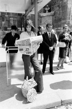 Jane Birkin. Looks so much like my mom in the 1970s.