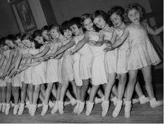 """"""" Students of the Royal Danish Ballet in Copenhagen, 1930s """""""