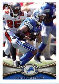 2012 Topps Football Card # 268 Nate Burleson - Detroit Lions (NFL Trading Card) by 2012 Topps. $1.95. 2012 Topps Football Card # 268 Nate Burleson - Detroit Lions (NFL Trading Card)
