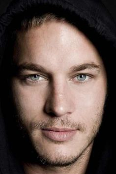 Travis Fimmel *gets distracted by his face and walks square into a wall*