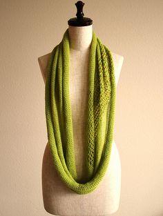spring green cowl | knittimo | Flickr