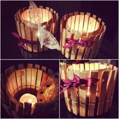 Candle holders! DIY