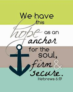 how to come up with anchor thought