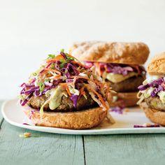 Gluten-Free Turkey Burgers with Slaw | Williams Sonoma Taste