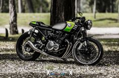 🏁 caferacerpasion.com 🏁 Kawasaki KZ650 #CafeRacer by Ruffo Black Customs - Photo by Jorge Sánchez from Flickr [TAGS] #caferacerpasion #kawasaki #caferacersofinstagram #caferacerxxx #caferacerporn #caferacergram
