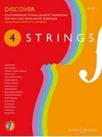 PARTRIDGE L. (ARR. ) - DISCOVER BOOK 1 Contemporary string quartet repertoire - € 17,00 Kamermuziek diverse genres, 2 Violen/Altviool/Cello, BOOSEY BH130960