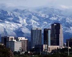 Snow on the Catalinas - Tucson