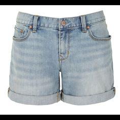 "Gap Sexy Boyfriend Worn Washed Shorts Size 30/10 Denim cuffed shorts with a 4"" inseam. Worn with love. GAP Shorts Jean Shorts"