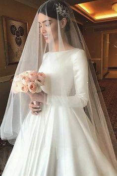 Princess Wedding Dresses, Elegant Wedding Dress, Modest Wedding Dresses, Tulle Wedding, Cheap Wedding Dress, Bridal Dresses, Timeless Wedding, Wedding Garters, Wedding White