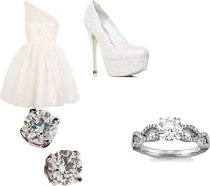 """Courthouse Wedding"" by jackiemschultz on Polyvore"