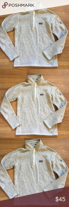 Patagonia better sweater size s gray Patagonia better sweater in excellent condition size s patagonia Jackets & Coats