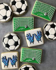Hashtag #soccercookies en Instagram • Fotos y vídeos Shes A Keeper, Soccer Party, Goalkeeper, Instagram, Goaltender, Party, Fo Porter