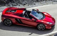 McLaren MP4-12C Spider Convertible