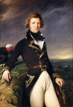 Louis Philippe d'Orléans, Duke of Chartres in 1792 Léon Cogniet Oil on canvas c. 1834