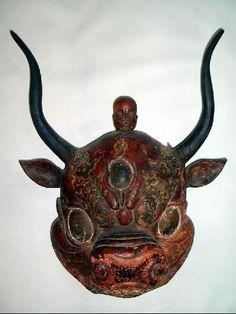 MASKS OF TEBET | Ritual objects | Beautiful objects from Tibet/Beaux objets du Tibet