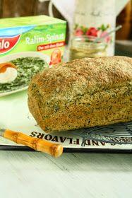 Spelt Spinach Bread