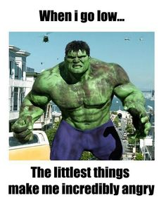This is soo funny any type 1 will totally understand this! My little boy probably would love to see mommy look like this (cause  he told me today the hulk is a good guy lol) he loves the hulk