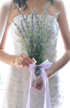 My DIY lavender bouquet