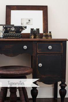 Typewriter / Miss Mustard Seed's Milk Paint
