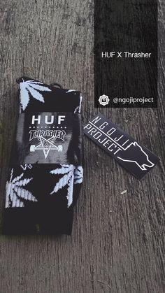 HUF x Thrasher Magz. IG: @ngojiproject