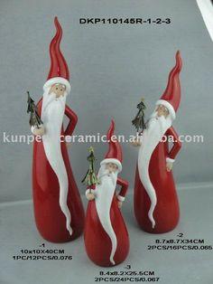 ceramic santa