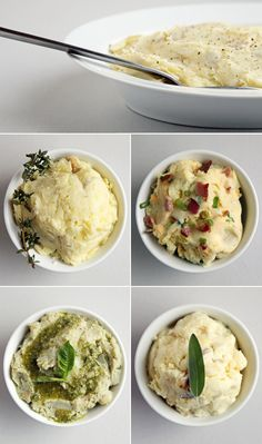4 Creative Mashed Potato Recipes — brown butter, goat cheese, and sage, anyone?