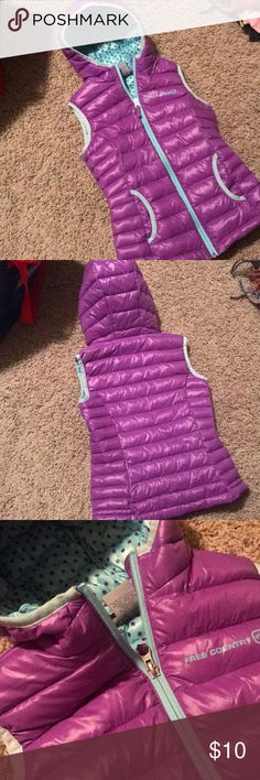 Girls puffy vest Never worn, new without tags girls lightweight puffy vest. Size S 7-8. Save on bundles, no trades. Jackets & Coats Vests