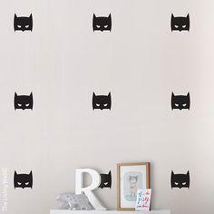 Batman muur Sticker held kunst aan de muur voor door LivingWall