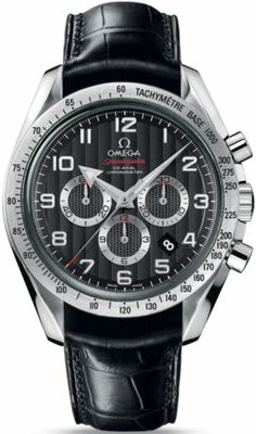 321.13.44.50.01.001    OMEGA SPEEDMASTER BROAD ARROW MENS LUXURY WATCH    Discontinued Unavailable - FREE Overnight Shipping - NO SALES TAX (Outside California)- WITH MANUFACTURER SERIAL NUMBERS- Black Dial  - Chronograph Feature- Self Winding Automatic Chronometer Movement - 5 Year Warranty - Guaranteed Authentic - Certificate of Authenticity - Manufacturer Box