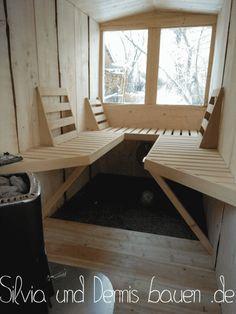 Infrarot Sauna, Diy Sauna, Outdoor Sauna, Best Tiny House, Saunas, Hot Pot, Wellness, Indoor, Workout